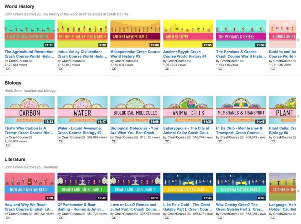 плейлисты на канале youtube