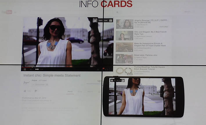 info cards youtube